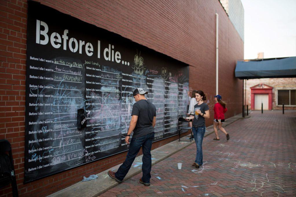 Sanford, NC Before I Die Mural