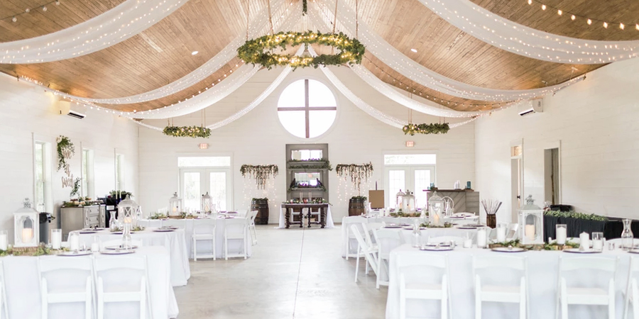 Example of a small weddings venue.